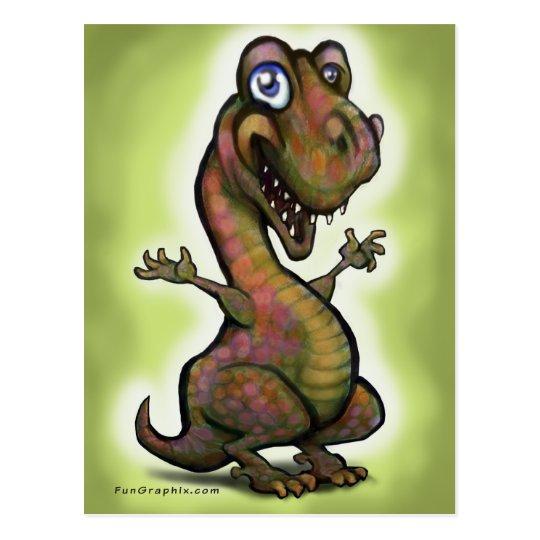 Baby T-Rex Postcard
