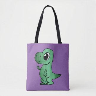 Baby T-Rex tote bag