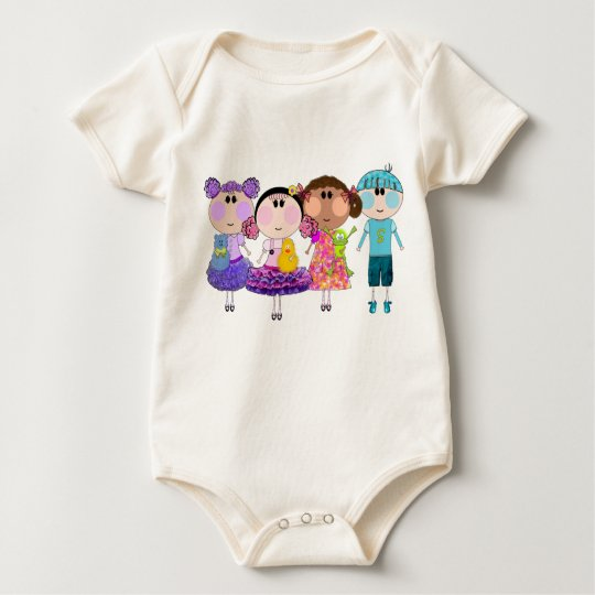 Baby T-shirt Amelia & Friends