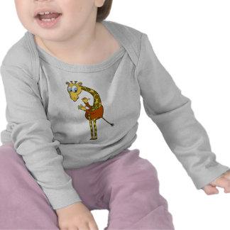 """baby t-shirt """"giraffe"""""""