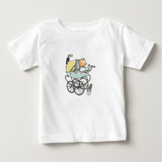 Baby t-shirt with baby in pram