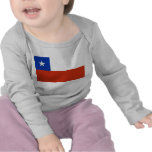 Baby T-Shirt with Flag of Chile