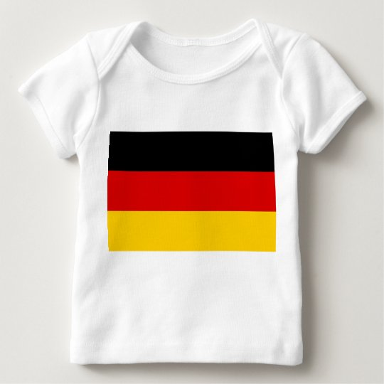 Baby T-Shirt with Flag of Germany