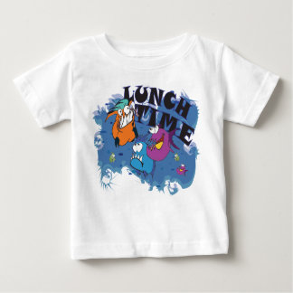 Baby T-shirt with Piranha motive Lunch time