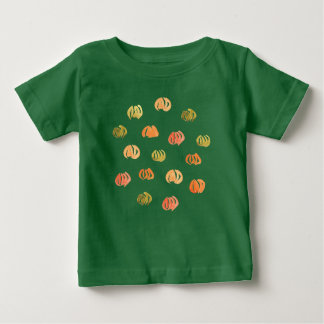 Baby T-shirt with pumpkins