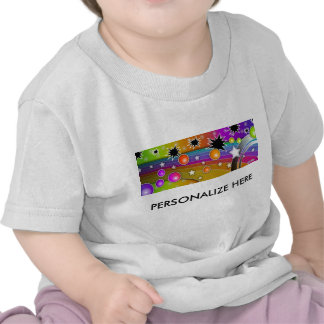 Baby T-shirts - BIG BANG BLACK HOLES POP ART