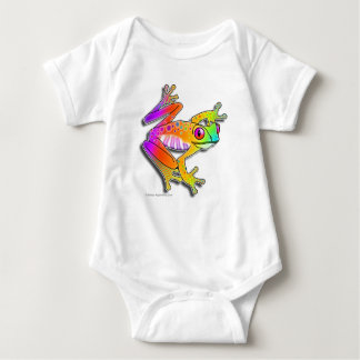 BABY T-SHIRTS & CREEPERS - FROG POP ART