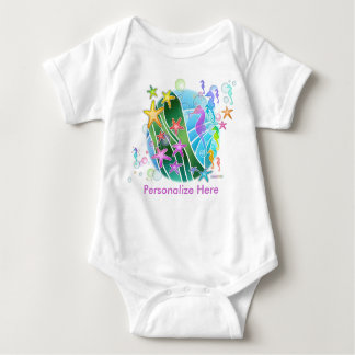 Baby T-shirts - Under the Sea Pop Art