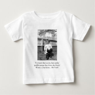 Baby T - Worms in his boots! Baby T-Shirt