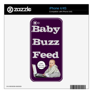 Baby Talk Customize Skin For The iPhone 4S