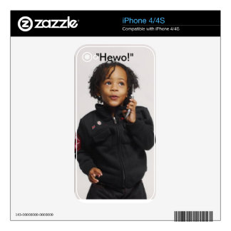 Baby Talk iPhone 4 Skin