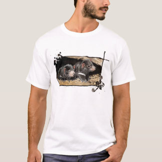 baby Tasmanian devils T-Shirt