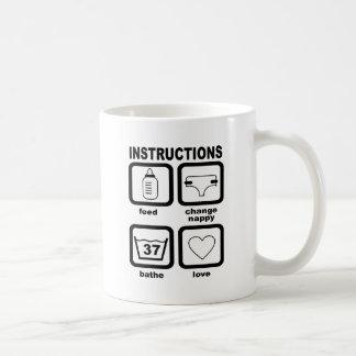 baby tazas de café