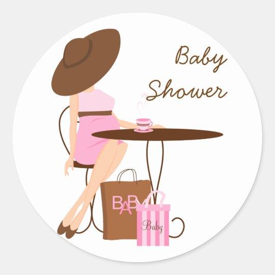 Baby Tea Classic Round Sticker