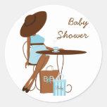 Baby Tea Round Sticker