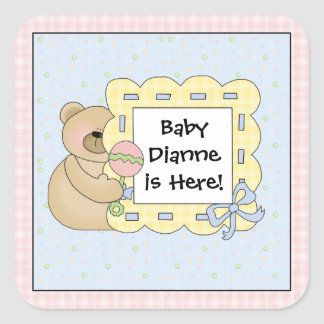 Baby Teddy Bear Stickers