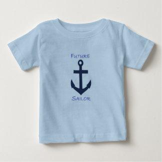 Baby Tee Navy Sailor