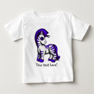 Baby Tee - Zoe Zebra