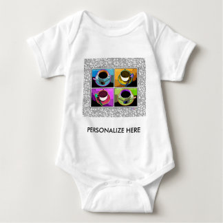 Baby Tees, Apparel - Java Addictions Pop Art Baby Bodysuit