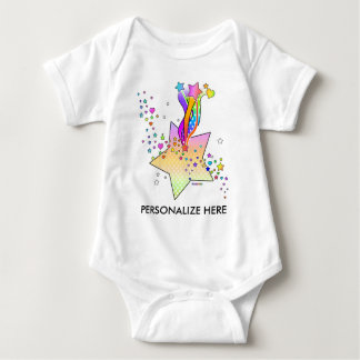 Baby Tees, Apparel - Maxxed Pop Art Baby Bodysuit