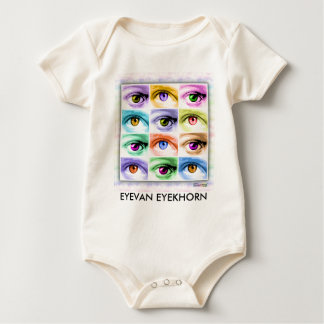 Baby Tees, Creepers - Pop Art Eyes