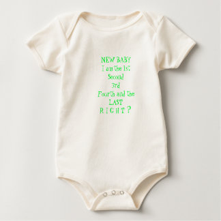 BABY TEE'S, INFANT WARM TEE WITH MESSAGE