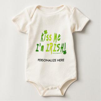, BABY TEES - Kiss Me, I'm IRISH