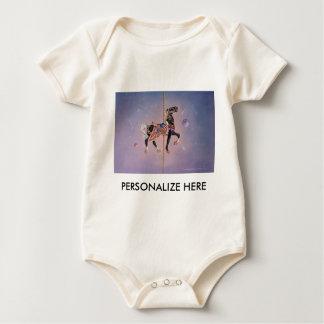 Baby Tees - Petaluma Carousel Horse 2