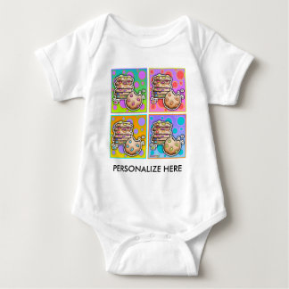 Baby Tees - Pop Art Cookies