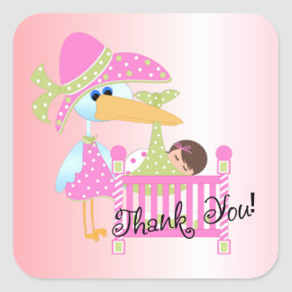 Baby Thank you 1 Stickers