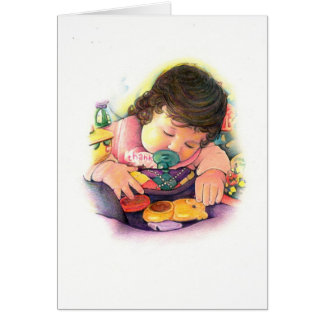 Baby Thanks Greeting Card