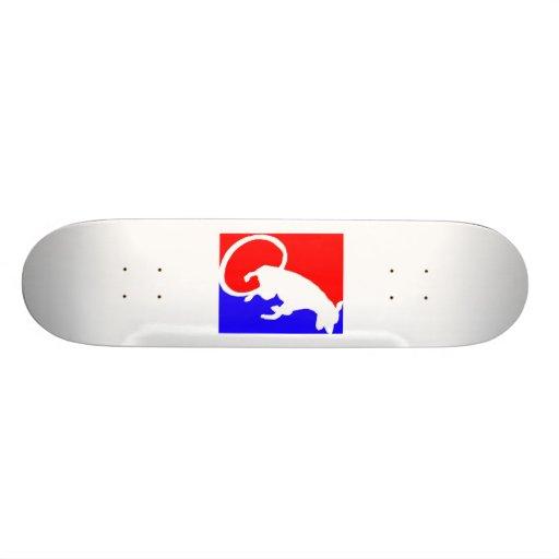 baby the dog logo skate skate board deck