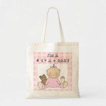 Baby Theme # 1Girl Diaper Tote Bag