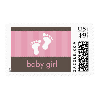 BABY THEMED POSTAGE STAMP :: happy feet 1