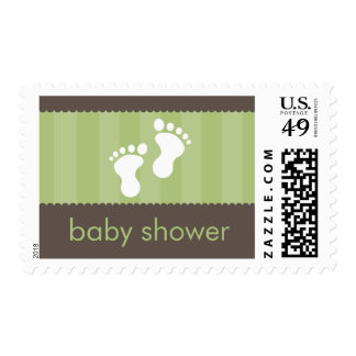 BABY THEMED POSTAGE STAMP :: happy feet 13