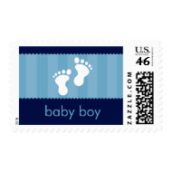 BABY THEMED POSTAGE STAMP :: happy feet 3
