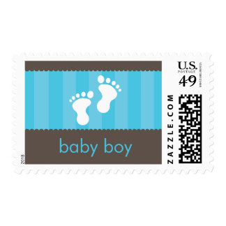 BABY THEMED POSTAGE STAMP :: happy feet 4