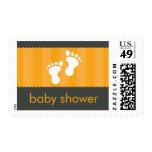 BABY THEMED POSTAGE STAMP :: happy feet 7