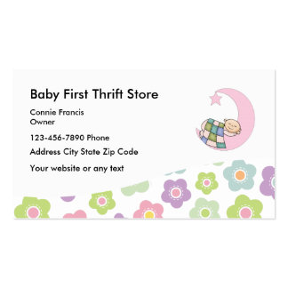 Baby Thrift Store Business Card