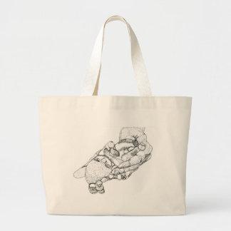 Baby Tia Large Tote Bag