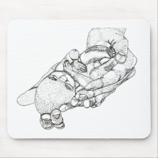 Baby Tia Mouse Pad