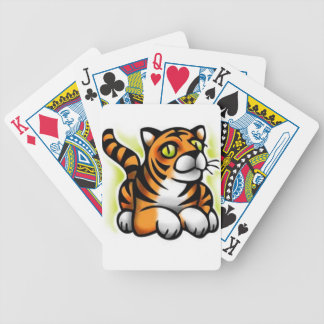 baby-tiger bicycle playing cards