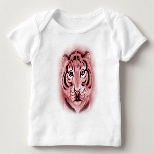*Baby Tiger Cub* portrait Design Baby T-Shirt