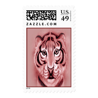 Baby Tiger Cub Postage Stamps