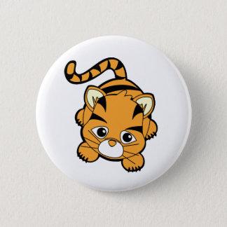 Baby Tiger Cutie Pinback Button