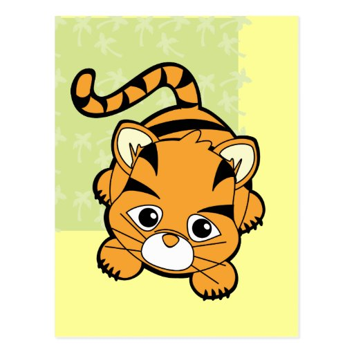Baby Tiger Cutie Postcards