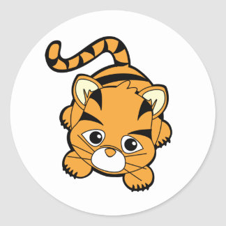 Baby Tiger Cutie Stickers