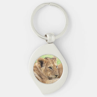 Baby Tiger key chain