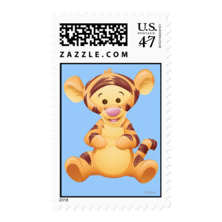 Baby Tigger Postage Stamp