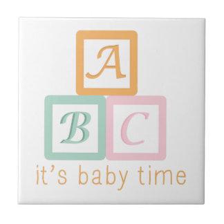 Baby Time Ceramic Tile